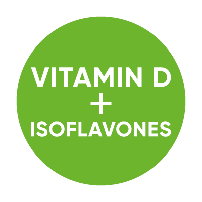 Vitamin D3 + Isoflavones 90 Tablets