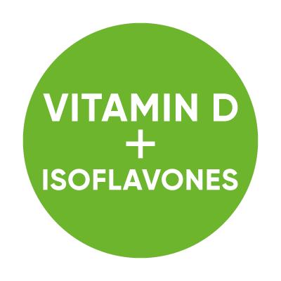 Vitamin D3 + Isoflavones 90 Tablets