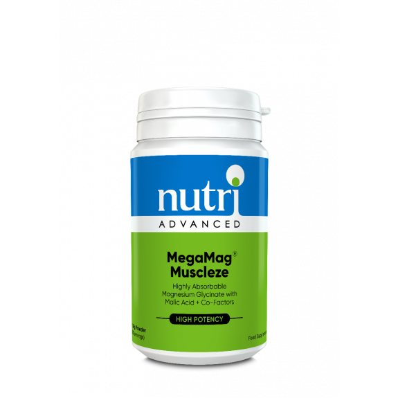 MegaMag Muscleze Powder Label