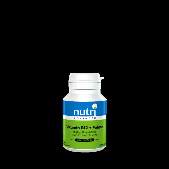 Vitamin B12 + Folate 60 Tablets