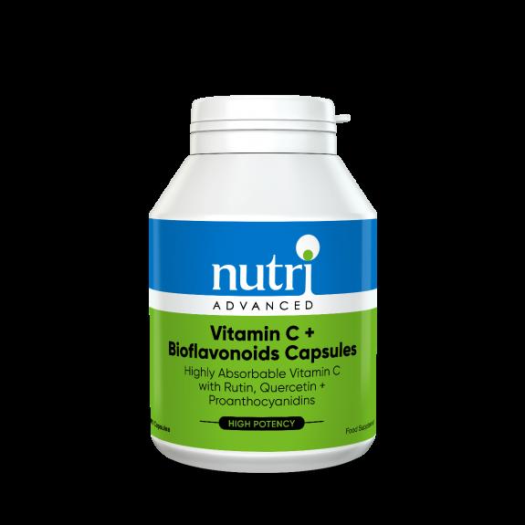 Vitamin C + Bioflavonoids 100 Capsules