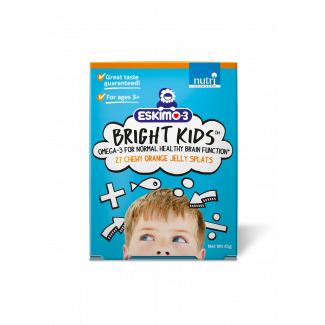 Eskimo®-3 Bright Kids Fish Oil Jelly Splats