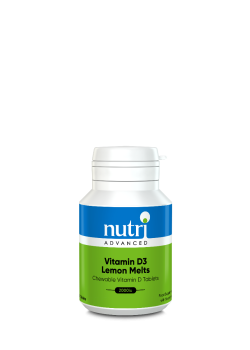Vitamin D3 Lemon Melts 120 Tablets