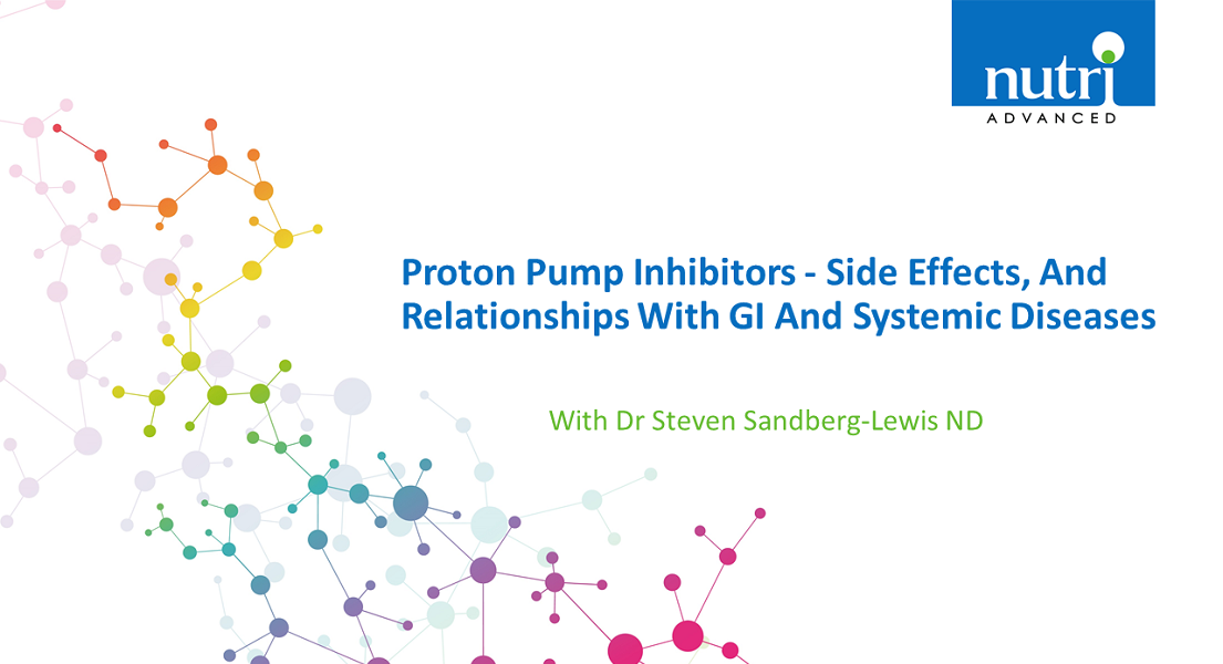 Proton Pump Inhibitors - Side Effects, And Relationships With GI And Systemic Diseases