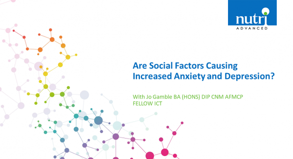 Are Social Factors Causing Increased Anxiety and Depression?