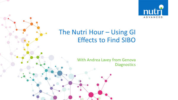 The Nutri Hour - Using GI Effects to Find SIBO with Andrea Lavey