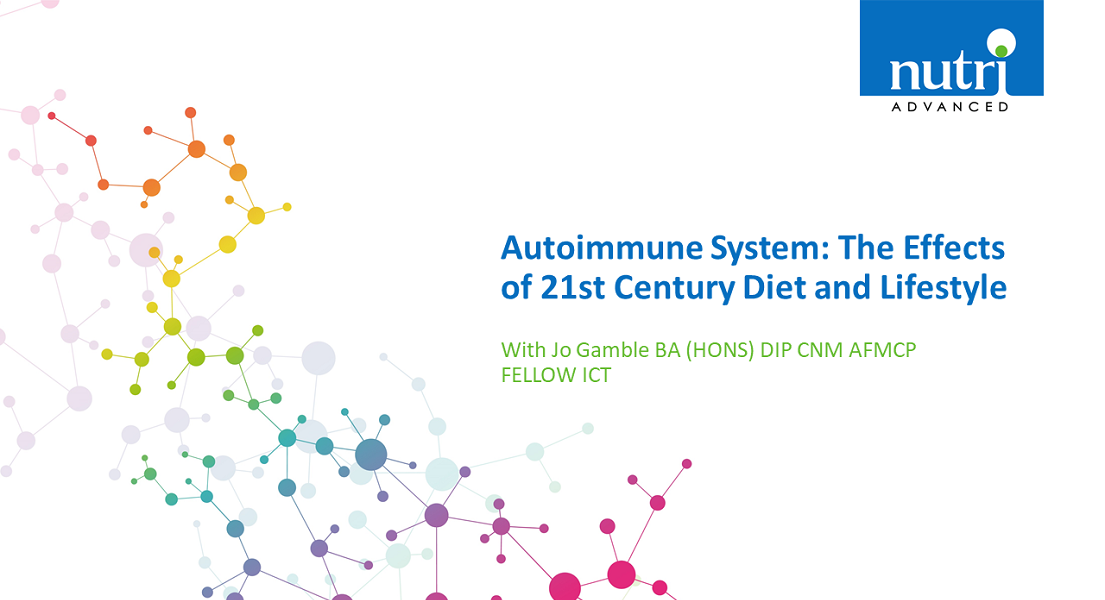 Autoimmune System: The Effects of 21st Century Diet and Lifestyle