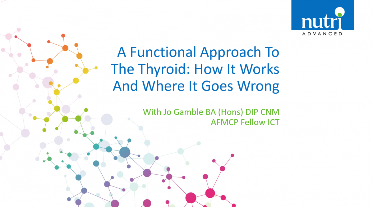 A Functional Approach To The Thyroid: How It Works And Where It Goes Wrong