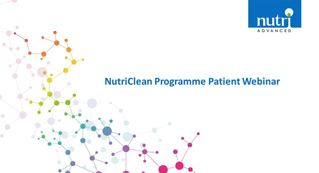 NutriClean Programme Patient Webinar