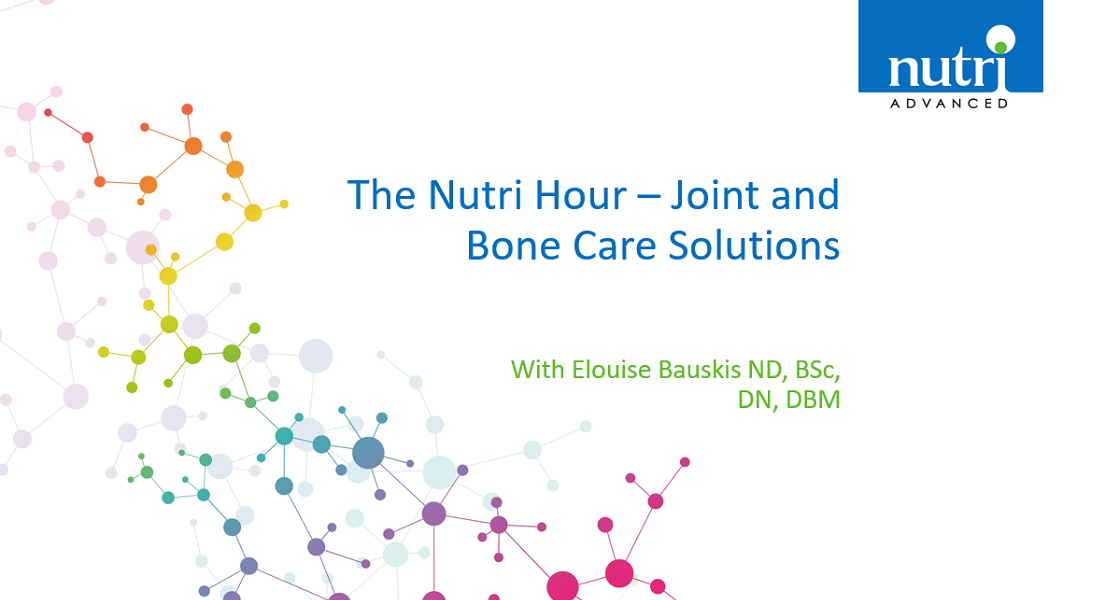 The Nutri Hour - Joint and Bone Care Solutions with Elouise Bauskis