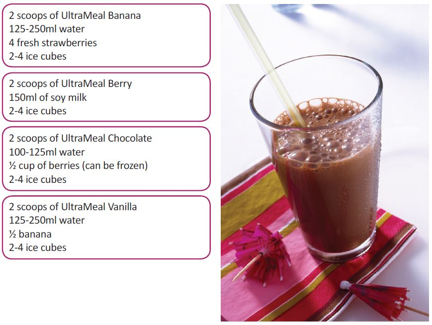 UltraMeal Smoothie Recipes